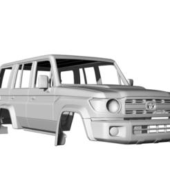 Captura de pantalla (61).png Download STL file Toyota Land Cruiser J76 5door 2007 313MM • 3D printer design, aleessa