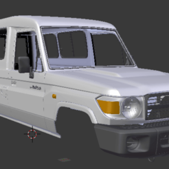 Captura de pantalla (183).png Télécharger fichier STL Toyota Land Cruiser J78 2010 313 mm • Plan pour imprimante 3D, aleessa