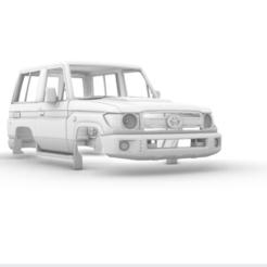 Captura de pantalla (378).png Télécharger fichier STL Toyota Land Cruiser (J71) 3 portes 285mm • Plan pour impression 3D, aleessa