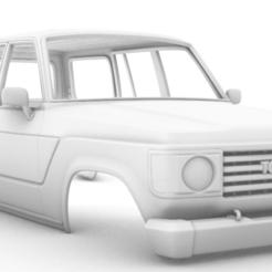 Captura de pantalla (286).png Télécharger fichier STL Toyota Land Cruiser (J60) 1980 313MM • Modèle pour impression 3D, aleessa