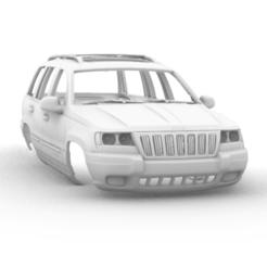 Captura de pantalla (203).png Télécharger fichier STL Jeep Grand Cherokee WJ 1998 313mm • Modèle à imprimer en 3D, aleessa