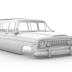 Captura de pantalla (325).png Télécharger fichier STL Jeep Wagoneer 1978 313MM • Design imprimable en 3D, aleessa