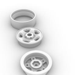 Captura de pantalla (389).png Télécharger fichier STL toyota landcruiser 1.9 beatlock rim • Modèle pour imprimante 3D, aleessa