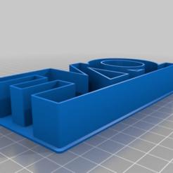 101c3b7eadb304d0729abcf7da2b12de.png Download free STL file one cookie cutter • 3D printable model, kareninch2