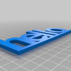 b3eed1fc0224cbb51251eff0c724ae13.png Download free STL file hello • 3D printing template, kareninch2