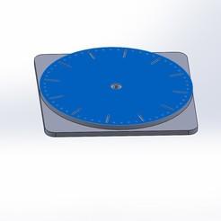 Descargar archivos 3D gratis Plataforma giratoria para escanear, alaingiresini