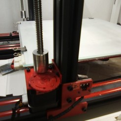Download free STL Z-axis adjustment knob removed (Alfawise, LK1, Longer and CR-10), alaingiresini