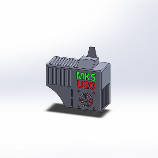 Download free 3D print files Modify the 23/08/19 Direct Drive BMG + E3D V6 to U20/U30/CR10, alaingiresini