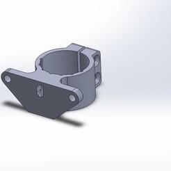 Télécharger objet 3D gratuit support feu arrière sur tube de selle, alaingiresini