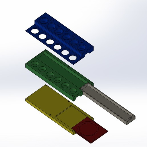 Assemblage1.JPG Download free STL file suppoert paint pot model paint pot • 3D print design, alaingiresini