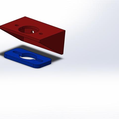 Imprimir en 3D gratis Soporte para el nuevo modelo del eje Z (8mm), alaingiresini