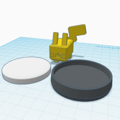 Download free 3D printing templates Custom Pokemon Quest Pikachu amiibo, Cart3r