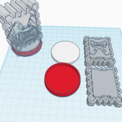 Télécharger modèle 3D gratuit Thwomp amiibo sur mesure, Cart3r