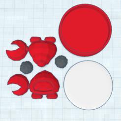 Télécharger plan imprimante 3D gatuit Huckit amiibo sur mesure, Cart3r