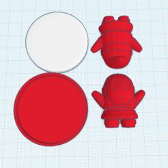 Descargar archivos 3D gratis Custom Shy Guy amiibo, Cart3r
