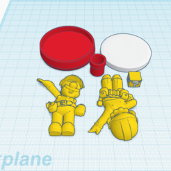 Download free 3D printer files Custom Mario Maker amiibo, Cart3r