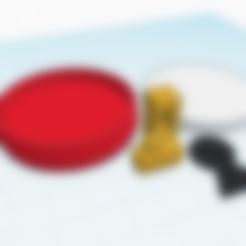 Imprimir en 3D gratis Llave personalizada Super Mario World Key/Keyhole amiibo, Cart3r