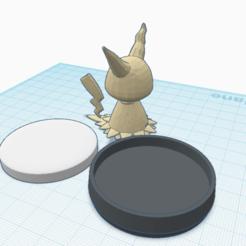 Diseños 3D gratis Personalizado Mimikyu amiibo, Cart3r