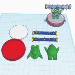 Free 3D model Custom Spike amiibo, Cart3r