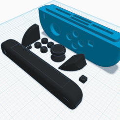 Download free 3D print files Joycon Game Case, Cart3r