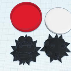 Descargar modelos 3D gratis Amiibo difuso personalizado, Cart3r