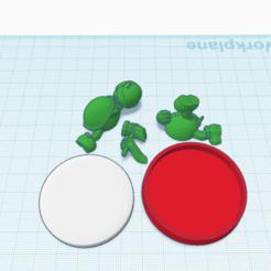Download free 3D printing designs Custom Hammer Bro. amiibo, Cart3r