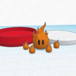 Descargar modelos 3D gratis Serpiente de fuego personalizada amiibo, Cart3r