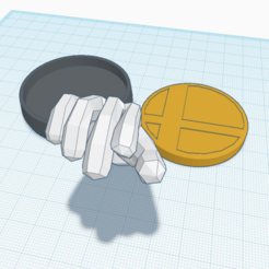 Download free STL files Custom Master Hand amiibo, Cart3r
