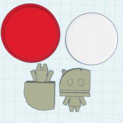 Impresiones 3D gratis Amiibo tallado a medida, Cart3r