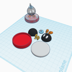 Descargar modelos 3D gratis Bob-omb amiibo personalizado, Cart3r