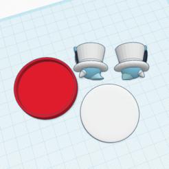 Descargar diseños 3D gratis Cappy amiibo personalizado, Cart3r
