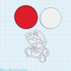 Descargar archivos STL gratis Papel a medida Mario amiibo, Cart3r