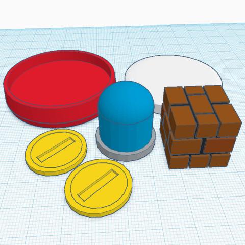 Télécharger modèle 3D gratuit P-Switch amiibo sur mesure, Cart3r