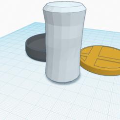 Descargar archivo 3D gratis Bolsa de arena personalizada amiibo, Cart3r