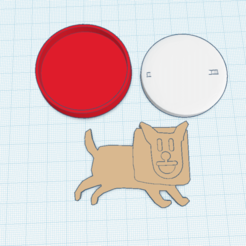 Télécharger plan imprimante 3D gatuit Undodog amiibo sur mesure, Cart3r