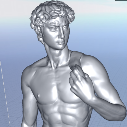 Download free 3D printer designs Miguel Angelo, Hardesigner