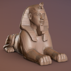Captura0.PNG Download free STL file Egyptian Sphinx • Object to 3D print, Hardesigner