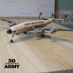 QA.png Download STL file Lockheed L1049 Super CONSTELLATION • 3D print object, 3DprintedArmy