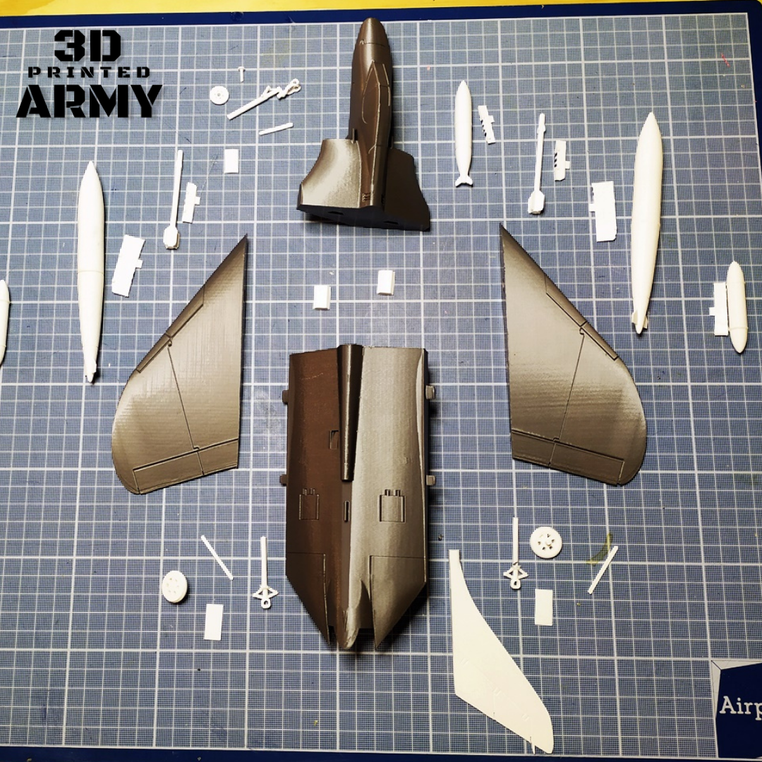 PDF GUIDE (3).png Download STL file DOUGLAS F4D SKYRAY  • 3D printer object, 3DprintedArmy