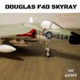 Sans titre (7).png Download STL file DOUGLAS F4D SKYRAY  • 3D printer object, 3DprintedArmy