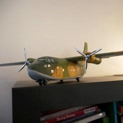 09.JPG Télécharger fichier STL Avion cargo Fairchild C-123 Provider, modèle réduit • Objet pour impression 3D, 3DprintedArmy