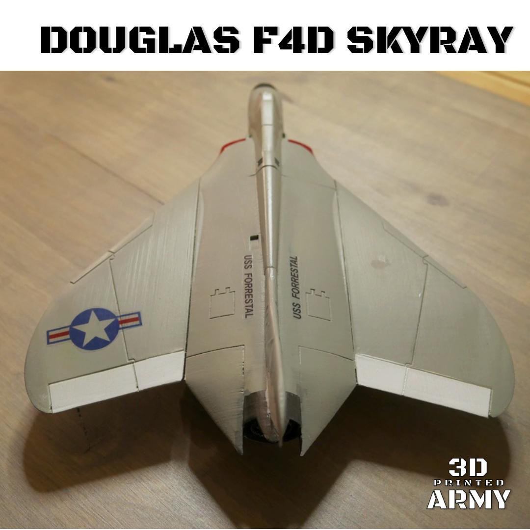 Sans titre (6).png Download STL file DOUGLAS F4D SKYRAY  • 3D printer object, 3DprintedArmy