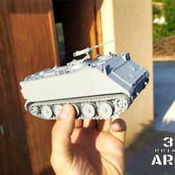Sans titre (12).png Download STL file M113 APC - armored vehicle  • 3D print design, 3DprintedArmy