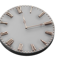 Download free 3D model CLOCK, przemek