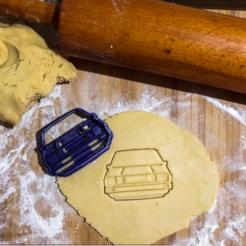 mk1.png Télécharger fichier STL Emporte-pièce à biscuits Volkswagen golf Mk1 • Modèle pour impression 3D, romanprints