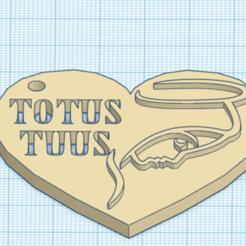 Modelos 3D gratis TOTUS TUUS, DAVID3D