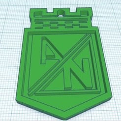 Descargar archivo 3D gratis atletico nacional, copa libertadores, DAVID3D
