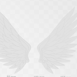 alas.png Download free STL file WINGS TWO • Template to 3D print, hassesino