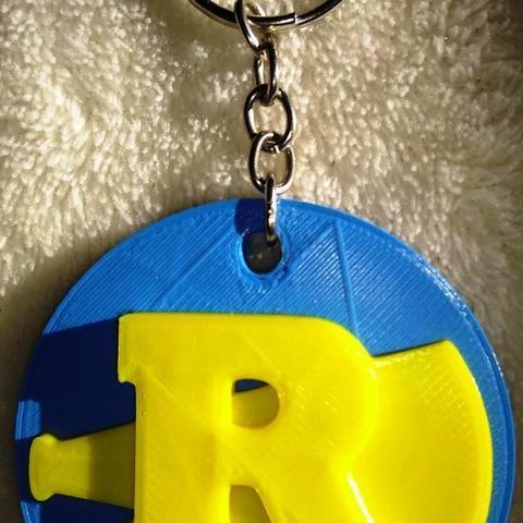 3D printer models Riverdale Key ring, scassini