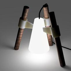 Download 3D printing templates TABLE LIGHTING, yarkinmuslu